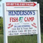 Henderson sign